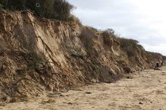 Damage to Berrow Dunes after 2019 winter storms