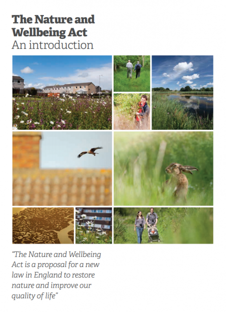 Nature and wellbeing act